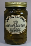 Crisp Bread & Butter Pickles