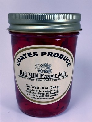 Red Mild Pepper Jelly