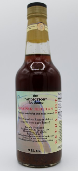 "The ""Addiction"" Reaper Edition Hot Sauce (Extra Hot)"