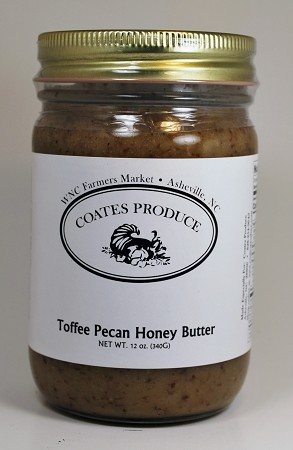Toffee Pecan Honey Butter