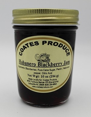 Habanero Blackberry Jam