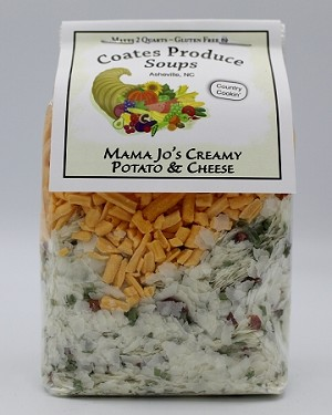 Mama Jo's Creamy Potato and Cheese Soup
